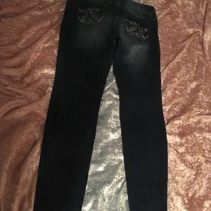 bebe Jeans - 2B skinny jeans by BeBe!  Like new. Size 30x30